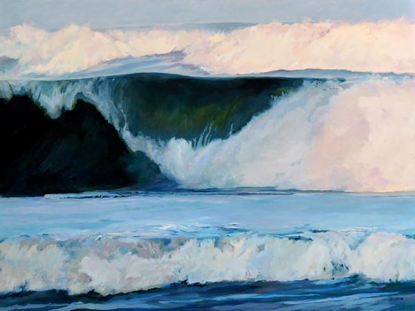 Sea Thunder - Seascape Painting