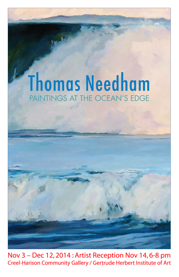 Thomas Needham Exhibition Poster November 3 2014